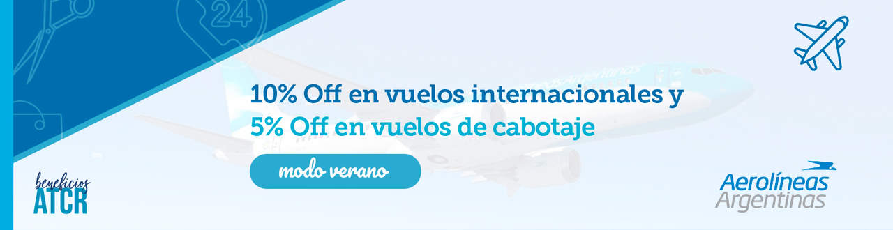 Beneficios Aerolineas ARG